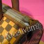 Handtaschen Fondanttorte - Reißverschluss