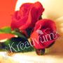 Hochzeitstorte mit Rosengesteck - Rosenknospe mit Blattgrün