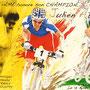 Fresque Julien Absalon - Acrylique sur panneau - 1,80 m x 1 m - 2009 - Commune de St Amé (88)<br><br>Sportif . champion du monde . champion olympique . VTT