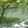 七月の桧原湖