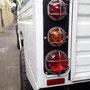 Heckleuchten-Schutzgitter Land Rover Defender 130