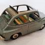 FIAT 600 - tettuccio aperto - epoca 1950