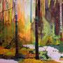 Freitagswald, 140x180 cm, 2013 Acryl/Leinwand
