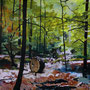 Urban green, 115x150 cm, 2013 Acryl/Leinwand