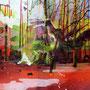 Der Wind dreht sich, 140x180 cm, 2013 Acryl/Leinwand