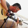 Shai Sebbag et la guitare baryton Katrina