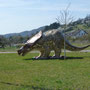 dinosaurus ter aanduiding van dinopark