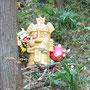 ベッカンコの神像