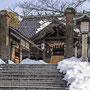 Temple en hiver