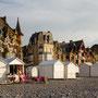 Michel Paret  : Fin de journée à Mers les Bains