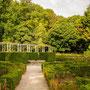 Rosengarten im Park von Serralves