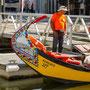 Ausflugsboot in Aveiro