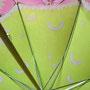 日傘を2本並行して制作しています。2色目を染めました。 (2013/04/12)