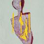 Forma del tempo 2011-50x35/acrilico-terre/tela