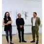 Dr. Susanne Kaufmann (SWR-Kultrur), Frank Paul Kistner, Bernhard J. Widmann