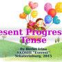 "Презентация к урокам в 3-6 классах ""Present Progressive Tense"", 2015."