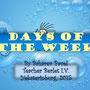 """Учебный проект Бахарева Павла """"Days of the week"""", 2015."""