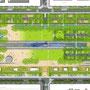 Plan masse - Partition rigoureuse des espaces