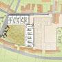 Plan masse - Un grand espace vert commun