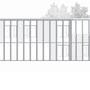 Facade ouest - centre d'hébergement