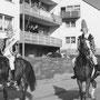 Gerhard Kissel, Westernladen Dahn, 1966 Faschingsumzug in Dahn