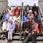 HospizhelferInnen und Hauptamtliche beim Hospizgruppenausflug 2012 ins Ahlenmoor