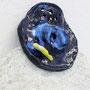 """Tsuki""  ceramic, mixed media, 46 x 38 x 8 cm, 201 6"