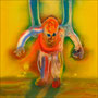 Baby   2012 , canvas , aquarell , 62,5 x 62,5 x 5 cm