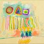 ○△□  2012 , canvas , aquarell , 50 x 60 x 4 cm
