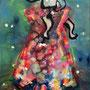 Present   2013, canvas, aquarell, Acrylic, 130 x 90 x 4 cm
