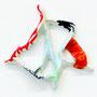 """""""Yama""""  Acrylic on ceramic, 24 x 23 x 4 cm, 201 6"""