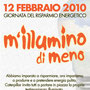 M'illumino di Meno 12 febbraio 2010