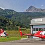 Ecureuil B3e HB-ZNI und Super Puma AS 332 C1 HB-XVY