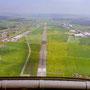 Landeanflug auf Flugplatz Emmen