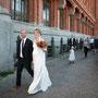 Seidenes Brautkleid im Neckholder-Stil, Schwangerschaftsbrautmode