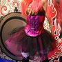 Corsage und Tüllrock im Punk-Stil für Nina Hagen