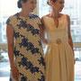 Elegantes Brautkleid mit tiefem Ausschnitt vorne und hinten | Foto-Copyright: Kiroo Studio, Seoul