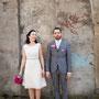 Süßes Brautkleid aus elfenbeinfarbenem Pünktchen-Seiden-Organza