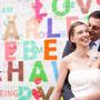 Süßes Brautkleid aus blass-pinkem Seiden-Georgette und Seiden-Stretch-Satin