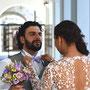 süßes Brautkleid aus Stretch-Seidensatin und Guipure-Spitze