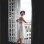Kurzes Brautkleid aus Seiden-Taft mit eingearbeiteter Korsage © Jens Ahner www.ja-hochzeitsfotografie.de