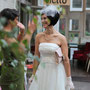 Seidenes Brautkleid im 20er Jahre Stil