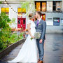 elfenhaftes Brautkleid aus Seidenchiffon