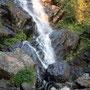 das ist der Fluder Wasserfall ...