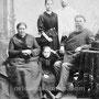 Купец 2 гильдии Карамышев Агап Осипович (держал лавку в Орлов Гае), его жена Наталья Матвеевна (Круглякова) и их внучатые племянники Вениамин, Серафима и самая младшая, моя прабабушка Лидия. 1890-е гг.
