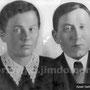 Трибунский Тимофей Иванович с женой Марией Ивановной. 1922 г.