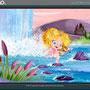 """Ilustración para el cuento """"La princesa Nostá""""- © GIO Fornieles"""