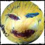 """The female life on moon""  (Acryl on Vinyl) by Don13"