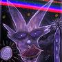 Carnival on Alpha Centauri - No.1 - Kreide auf Schiefer - by Don13