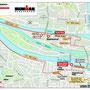 Laufstrecke (Innenstadtbereich) -  Ironman Regensburg